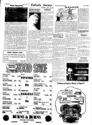 The Indian Journal from Eufaula, Oklahoma on November 3, 1960 · Page 6
