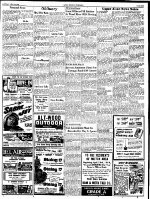 Alton Evening Telegraph from Alton, Illinois on April 24, 1954 · Page 9