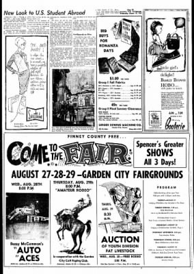 Garden City Telegram from Garden City, Kansas on August 14, 1963 · Page 25