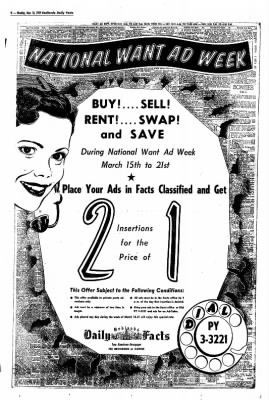 Redlands Daily Facts from Redlands, California on March 16, 1959 · Page 8