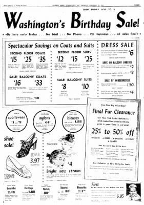 Cumberland Evening Times from Cumberland, Maryland on February 21, 1952 · Page 3