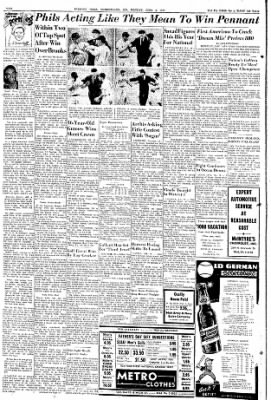 Cumberland Evening Times from Cumberland, Maryland on June 3, 1957 · Page 10