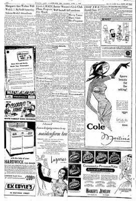 Cumberland Evening Times from Cumberland, Maryland on June 4, 1957 · Page 6