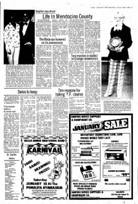 Ukiah Daily Journal from Ukiah, California on January 22, 1978 · Page 7