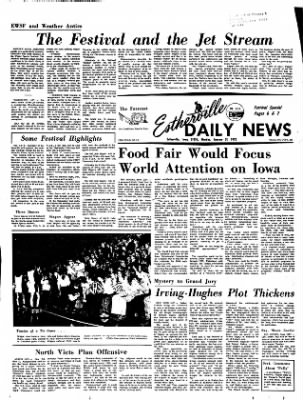 Estherville Daily News from Estherville, Iowa on January 31, 1972 · Page 1