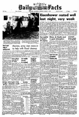 Redlands Daily Facts from Redlands, California on March 1, 1969 · Page 1