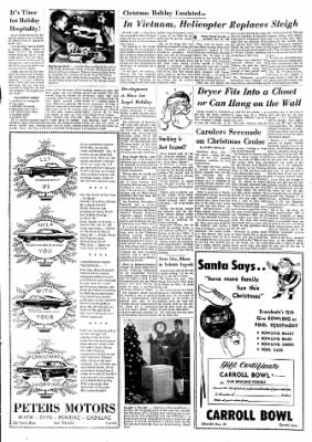 Carrol Daily Times Herald from Carroll, Iowa on November 18, 1967 · Page 32