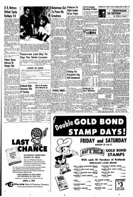 Redlands Daily Facts from Redlands, California on March 19, 1959 · Page 9