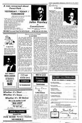 Forest Park Review from Forest Park, Illinois on February 10, 1971 · Page 9