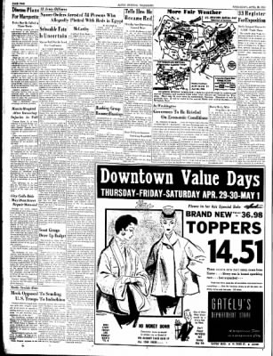 Alton Evening Telegraph from Alton, Illinois on April 28, 1954 · Page 2