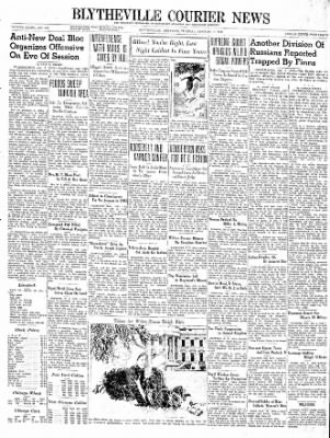 The Courier News from Blytheville, Arkansas on January 2, 1940 · Page 1