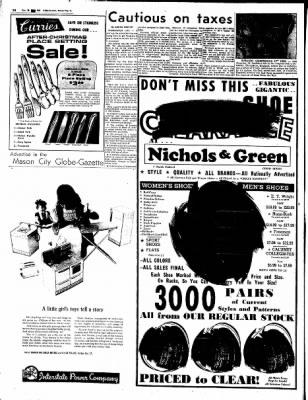 Globe-Gazette from Mason City, Iowa on December 28, 1964 · Page 18