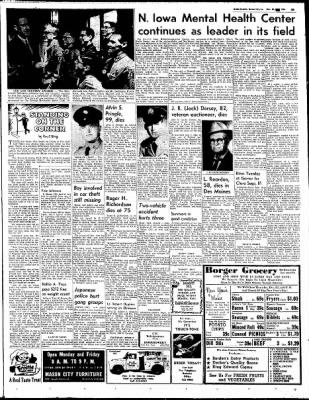 Globe-Gazette from Mason City, Iowa on December 28, 1964 · Page 29