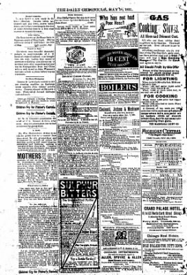 The Daily Chronicle from Centralia, Washington on May 18, 1891 · Page 4