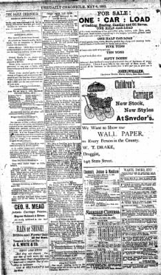 The Daily Chronicle from Centralia, Washington on May 6, 1893 · Page 2