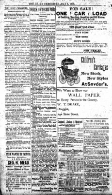 The Daily Chronicle from Centralia, Washington on May 8, 1893 · Page 2
