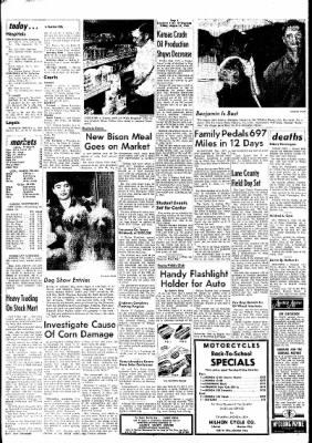 Garden City Telegram from Garden City, Kansas on August 23, 1963 · Page 1