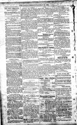 The Daily Chronicle from Centralia, Washington on May 16, 1893 · Page 2