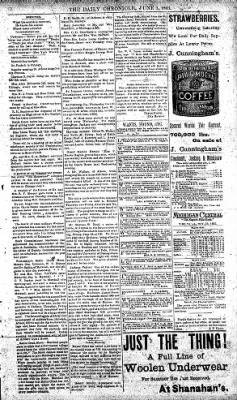 The Daily Chronicle from Centralia, Washington on June 1, 1893 · Page 3