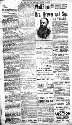 The Daily Chronicle from Centralia, Washington on October 7, 1892 · Page 2