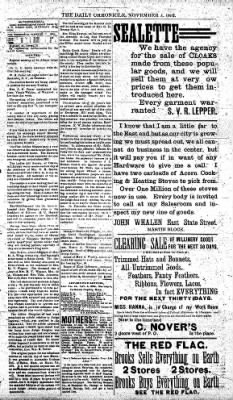 The Daily Chronicle from Centralia, Washington on November 4, 1892 · Page 3