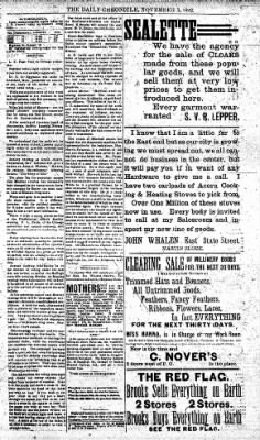 The Daily Chronicle from Centralia, Washington on November 5, 1892 · Page 3