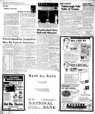 Del Rio News Herald from Del Rio, Texas on May 31, 1961 · Page 6