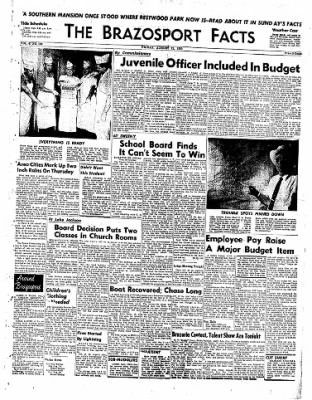 The Brazosport Facts from Freeport, Texas on August 21, 1959 · Page 1