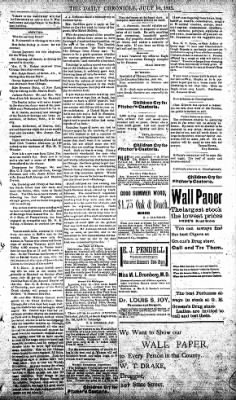 The Daily Chronicle from Centralia, Washington on July 10, 1893 · Page 3