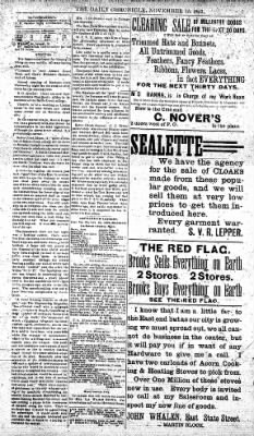 The Daily Chronicle from Centralia, Washington on November 15, 1892 · Page 3