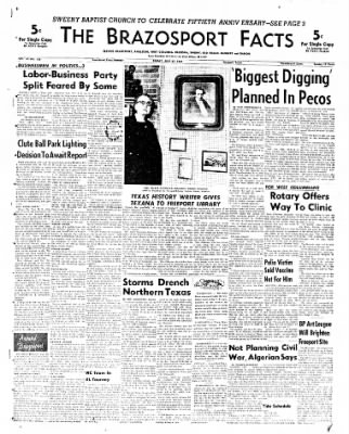 The Brazosport Facts from Freeport, Texas on July 27, 1962 · Page 1