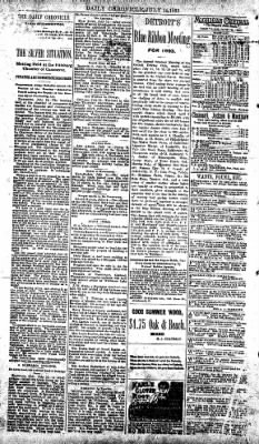 The Daily Chronicle from Centralia, Washington on July 14, 1893 · Page 2