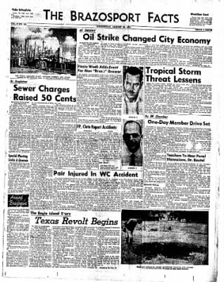 The Brazosport Facts from Freeport, Texas on August 26, 1959 · Page 1