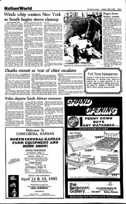 The Salina Journal from Salina, Kansas on April 7, 1985 · Page 5