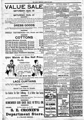 The Daily Chronicle from Centralia, Washington on August 20, 1897 · Page 2