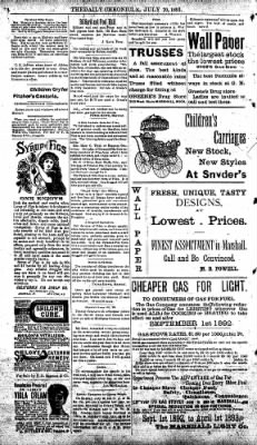 The Daily Chronicle from Centralia, Washington on July 21, 1893 · Page 4