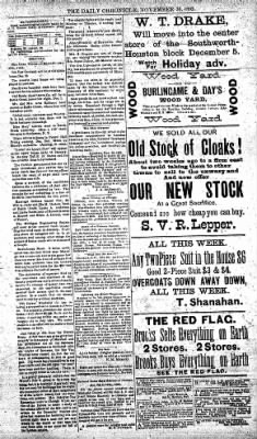 The Daily Chronicle from Centralia, Washington on November 30, 1892 · Page 3