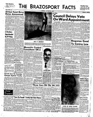 The Brazosport Facts from Freeport, Texas on August 28, 1959 · Page 1