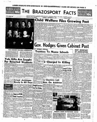 The Brazosport Facts from Freeport, Texas on December 4, 1960 · Page 1