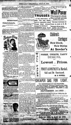 The Daily Chronicle from Centralia, Washington on July 27, 1893 · Page 4