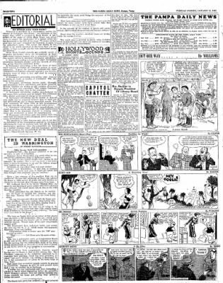 Pampa Daily News from Pampa, Texas on January 15, 1935 · Page 2