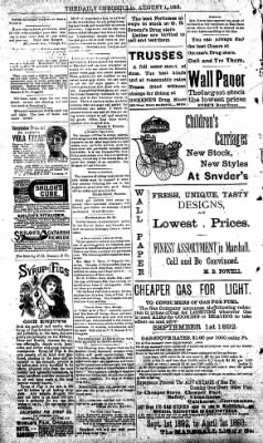 The Daily Chronicle from Centralia, Washington on August 1, 1893 · Page 4