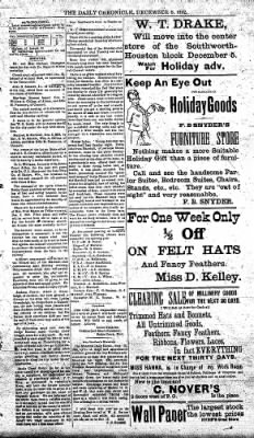 The Daily Chronicle from Centralia, Washington on December 8, 1892 · Page 3