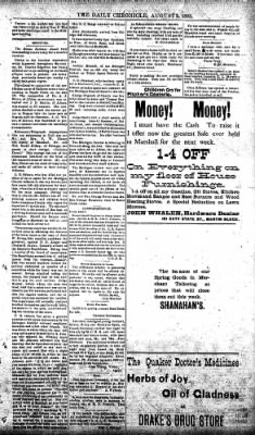 The Daily Chronicle from Centralia, Washington on August 2, 1893 · Page 3