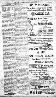 The Daily Chronicle from Centralia, Washington on December 10, 1892 · Page 3