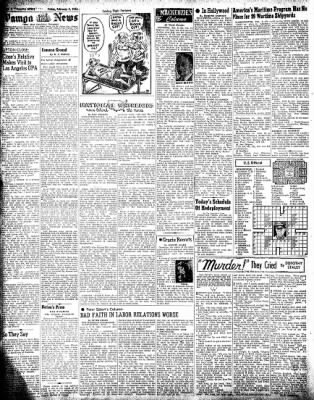 Pampa Daily News from Pampa, Texas on February 8, 1946 · Page 4