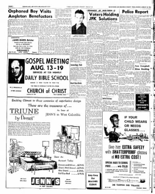 The Brazosport Facts from Freeport, Texas on August 12, 1962 · Page 2
