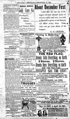 The Daily Chronicle from Centralia, Washington on December 12, 1892 · Page 4