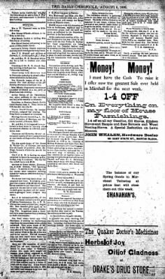 The Daily Chronicle from Centralia, Washington on August 5, 1893 · Page 3