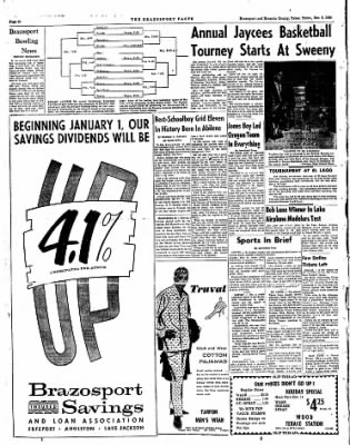 The Brazosport Facts from Freeport, Texas on December 8, 1960 · Page 10